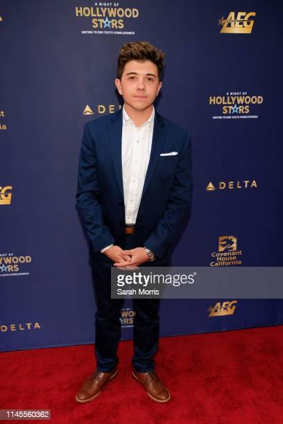 Actor Bradley Steven Perry attends A Night of Hollywood Stars Gala hosted by Covenant House California at The Novo by Microsoft on April 27 2019 in...