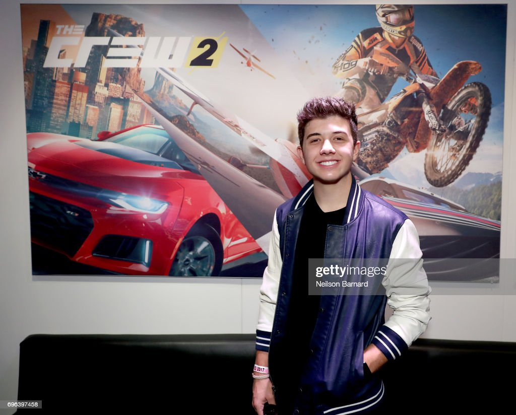 Actor Bradley Steven Perry attends E3 2017 at Los Angeles Convention Center on June 15, 2017 in Los Angeles, California.