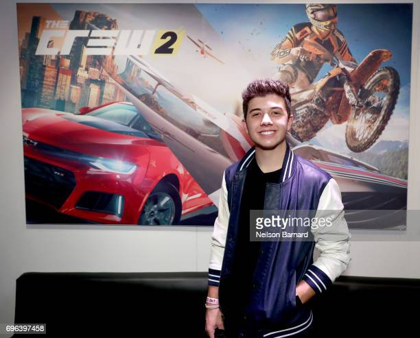 Actor Bradley Steven Perry attends E3 2017 at Los Angeles Convention Center on June 15 2017 in Los Angeles California