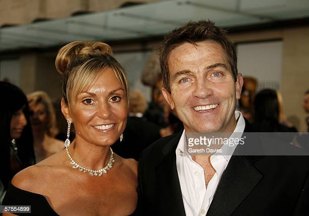 Actor Bradley Walsh and his wife Donna arrive at the Pioneer British Academy Television Awards 2006 at the Grosvenor House Hotel on May 7 2006 in...