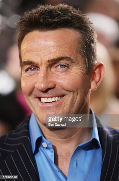 Actor Bradley Walsh arrives at the British Soap Awards 2006 at BBC Television Centre on May 20 2006 in London England The annual awards recognise the...