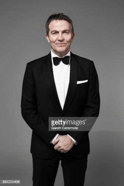 Actor Bradley Walsh is photographed at the National Television Awards on January 25 2017 in London England