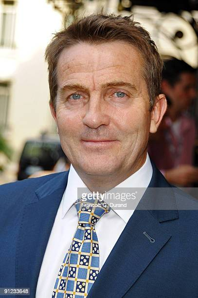 Actor Bradley Walsh leaves the Hermitage Hotel during the 49th MonteCarlo TV Festival on June 9 2009 in MonteCarlo Monaco