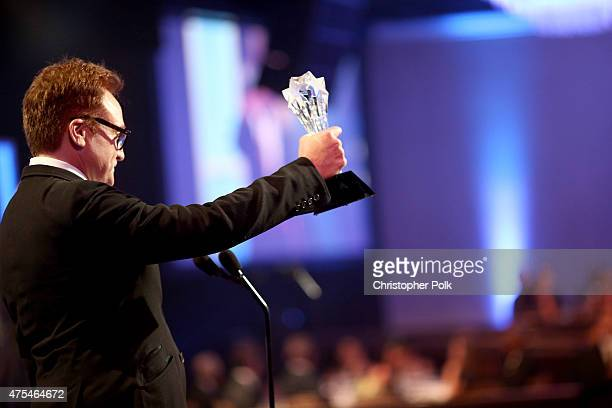 Actor Bradley Whitford accepts the Best Guest Performer in a Comedy Series award for Transparent onstage at the 5th Annual Critics' Choice Television...