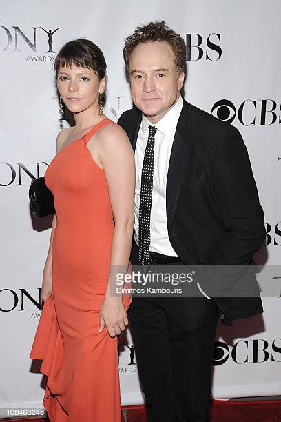 Actor Bradley Whitford and guest attend the 62nd Annual Tony Awards at Radio City Music Hall on June 15 2008 in New York City