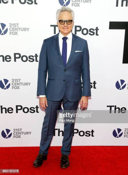 Actor Bradley Whitford arrives at 'The Post' Washington DC Premiere at The Newseum on December 14 2017 in Washington DC