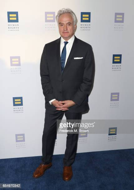 Actor Bradley Whitford at The Human Rights Campaign 2017 Los Angeles Gala Dinner at JW Marriott Los Angeles at LA LIVE on March 18 2017 in Los...