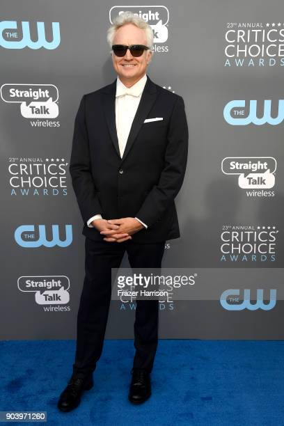 Actor Bradley Whitford attends The 23rd Annual Critics' Choice Awards at Barker Hangar on January 11 2018 in Santa Monica California