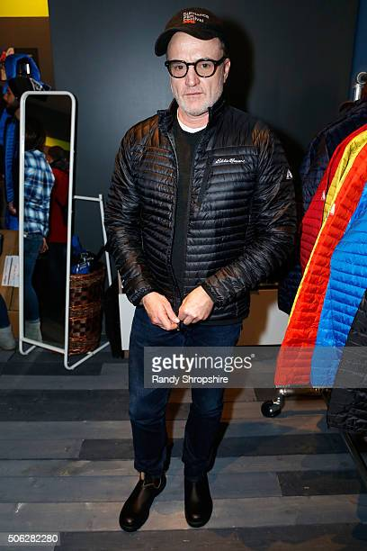 Actor Bradley Whitford attends the Eddie Bauer Adventure House during the 2016 Sundance Film Festival at Village at The Lift on January 22 2016 in...