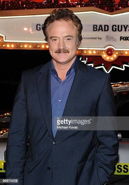 """Actor Bradley Whitford attends the opening reception for """"The Good Guys, Bad Guys, Hot Cars"""" exhibition at Petersen Automotive Museum on May 18, 2010..."""
