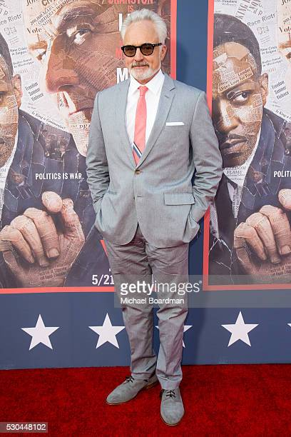 Actor Bradley Whitford attends the premiere of HBO's 'All The Way' at Paramount Studios on May 10 2016 in Hollywood California