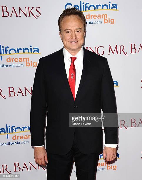 Actor Bradley Whitford attends the premiere of Saving Mr Banks at Walt Disney Studios on December 9 2013 in Burbank California
