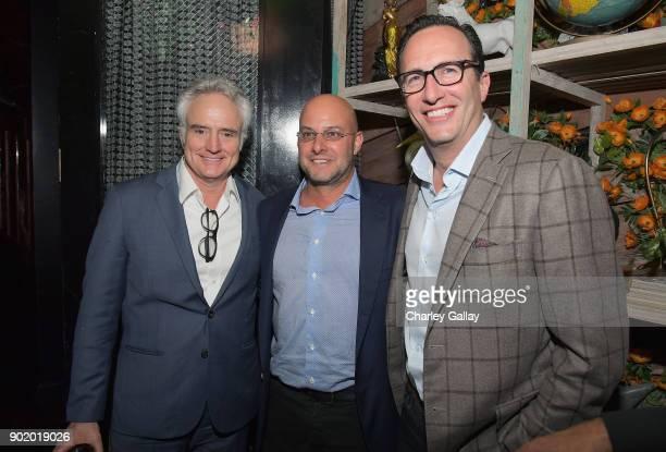 Actor Bradley Whitford ICM Partners Managing Partner Chris Silbermann and AMC SundanceTV AMC Studios President General Manager Charlie Collier attend...