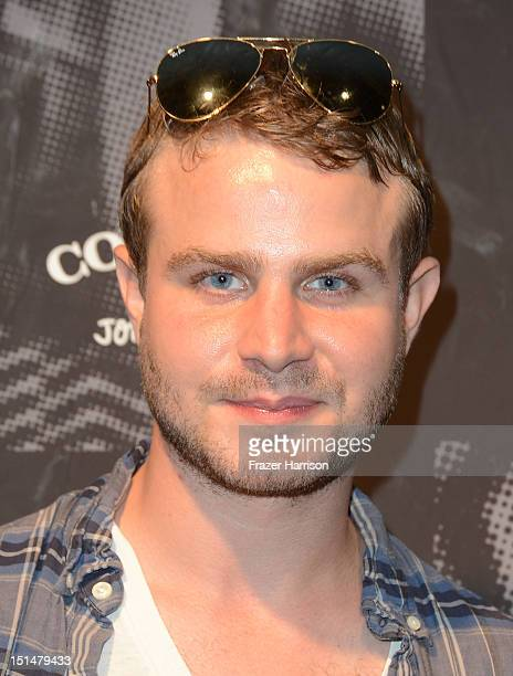 Actor Brady Corbet attends John Varvatos and Converse's Fashion Week celebration and launch of The Weapon on September 7 2012 in New York City