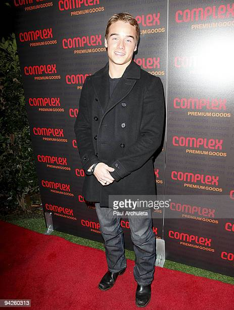 Actor Brando Eaton arrives at MyHouse Nightclub on December 9 2009 in Hollywood California