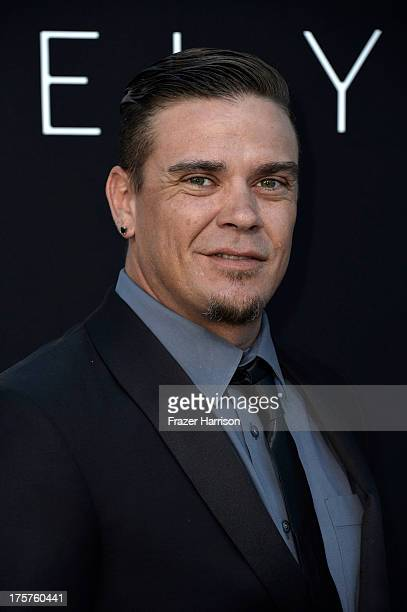 Actor Brandon Auret arrives at the premiere of TriStar Pictures' Elysium at Regency Village Theatre on August 7 2013 in Westwood California