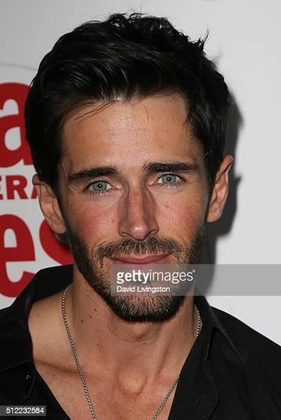 Actor Brandon Beemer arrives at the 40th Anniversary of the Soap Opera Digest at The Argyle on February 24 2016 in Hollywood California