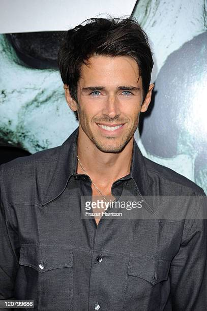 Actor Brandon Beemer arrives at the Screening of New Line Cinema's 'Final Destination 5' at the Grauman's Chinese Theatre on August 10 2011 in Los...