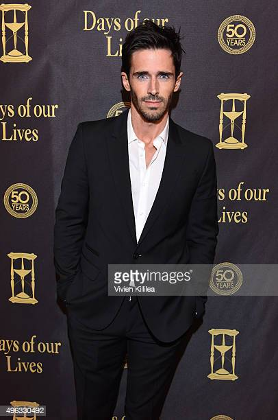 Actor Brandon Beemer attends the Days Of Our Lives' 50th Anniversary Celebration at Hollywood Palladium on November 7 2015 in Los Angeles California
