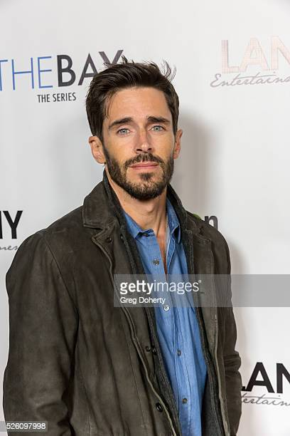 Actor Brandon Beemer attends the LANY Entertainment Presents 'The Bay' PreEmmy Party at the St Felix on April 28 2016 in Hollywood California