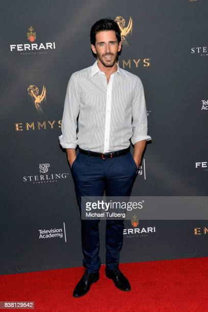 Actor Brandon Beemer attends the Television Academy's cocktail reception with stars of daytime television celebrating the 69th Emmy Awards at Saban...