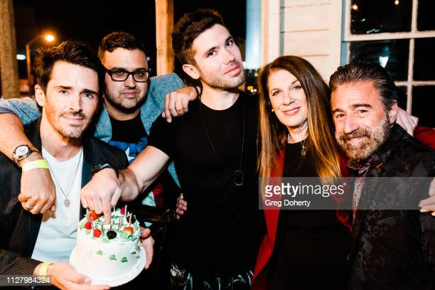 Actor Brandon Beemer Director Gregori J Martin Producer/Actor Kristos Andrews and Producers Wendy Riche and Anthony Aquilino attends the 8th Annual...