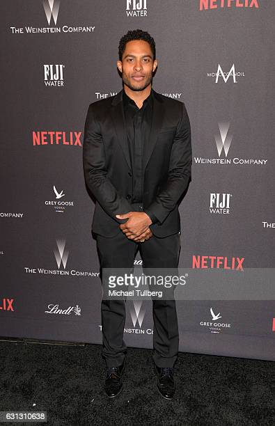 Actor Brandon Bell attends the 2017 Weinstein Company And Netflix Golden Globes After Party on January 8 2017 in Los Angeles California