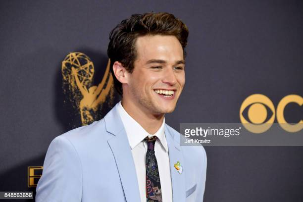 Actor Brandon Flynn attends the 69th Annual Primetime Emmy Awards at Microsoft Theater on September 17 2017 in Los Angeles California