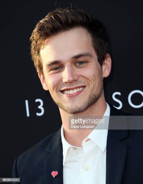 Actor Brandon Flynn attends the premiere of Netflix's '13 Reasons Why' at Paramount Pictures on March 30 2017 in Los Angeles California