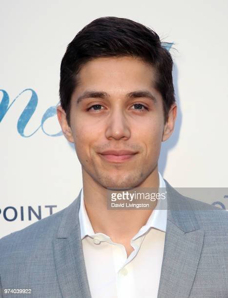 Actor Brandon Larracuente attends Magnolia Pictures' 'Damsel' premiere at ArcLight Hollywood on June 13 2018 in Hollywood California