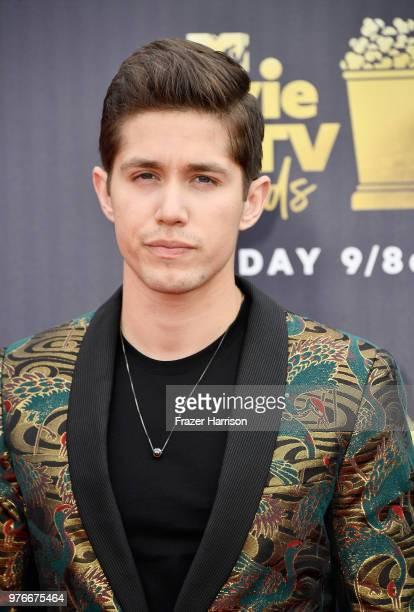 Actor Brandon Larracuente attends the 2018 MTV Movie And TV Awards at Barker Hangar on June 16 2018 in Santa Monica California