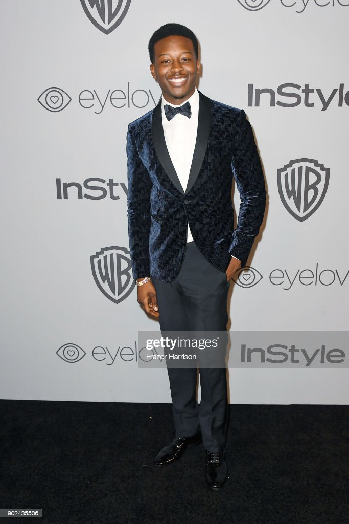 Actor Brandon Micheal Hall attends 19th Annual Post-Golden Globes Party hosted by Warner Bros. Pictures and InStyle at The Beverly Hilton Hotel on January 7, 2018 in Beverly Hills, California.