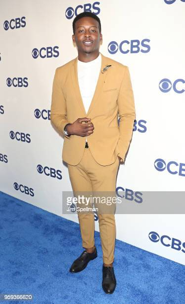 Actor Brandon Micheal Hall attends the 2018 CBS Upfront at The Plaza Hotel on May 16 2018 in New York City