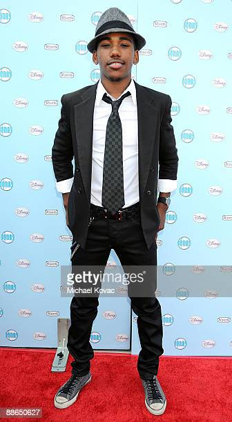 Actor Brandon Mychal Smith arrives at Disney's Back-to-School 2009 Virtual Fashion Show at KABC Soundstage 2 on June 23, 2009 in Glendale, California.