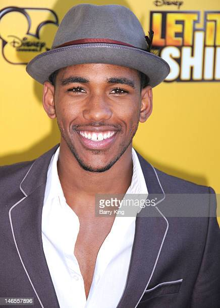 Actor Brandon Mychal Smith arrives at Disney's 'Let It Shine' premiere held at Directors Guild Of America on June 5, 2012 in Los Angeles, California.