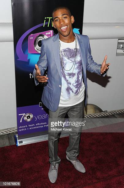 Actor Brandon Mychal Smith arrives at his 21st birthday bash presented by Vivitar and DJ Hero on June 5, 2010 on the Endless Dreams Yacht in Los...
