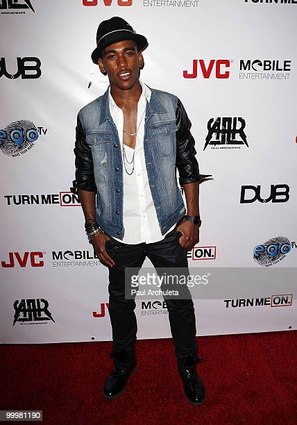 """Actor Brandon Mychal Smith arrives at The All-American Rejects world premiere of """"Turn Me On 3"""" at cinespace on May 18, 2010 in Hollywood, California."""
