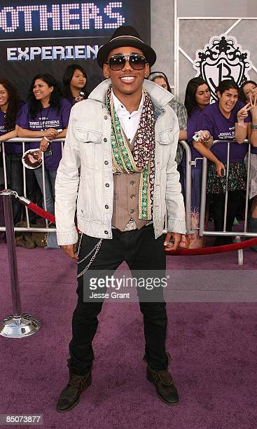 """Actor Brandon Mychal Smith arrives at the Los Angeles premiere of """"Jonas Brothers: The 3D Concert Experience"""" at the El Capitan Theatre on February..."""