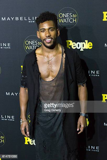 Actor Brandon Mychal Smith arrives at the People's Ones To Watch party at EP LP on October 13 2016 in West Hollywood California