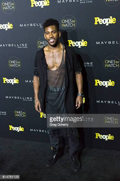 Actor Brandon Mychal Smith arrives at the People's 'Ones To Watch' party at EP LP on October 13 2016 in West Hollywood California
