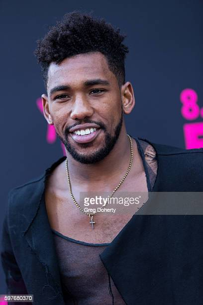 Actor Brandon Mychal Smith arrives for the Premiere Of FXX's You're The Worst Season 3 at Neuehouse Hollywood on August 28 2016 in Los Angeles...