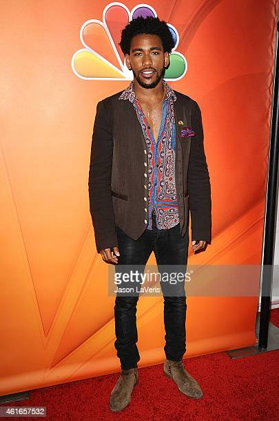 Actor Brandon Mychal Smith attends the NBCUniversal 2015 press tour at The Langham Huntington Hotel and Spa on January 16, 2015 in Pasadena,...