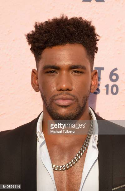 Actor Brandon Mychal Smith attends the premiere of Season 4 of FXX's 'You're The Worst' at Museum of Ice Cream LA on August 29 2017 in Los Angeles...