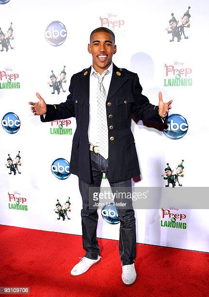 """Actor Brandon Mychal Smith attends the """"Prep & Landing Premiere"""" hosted by the Disney ABC Television Group at the El Capitan Theatre on November 16,..."""