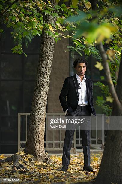Actor Brandon Mychal Smith is photographed for Los Angeles Times on December 31 2014 in Los Angeles California PUBLISHED IMAGE CREDIT MUST READ Wally...