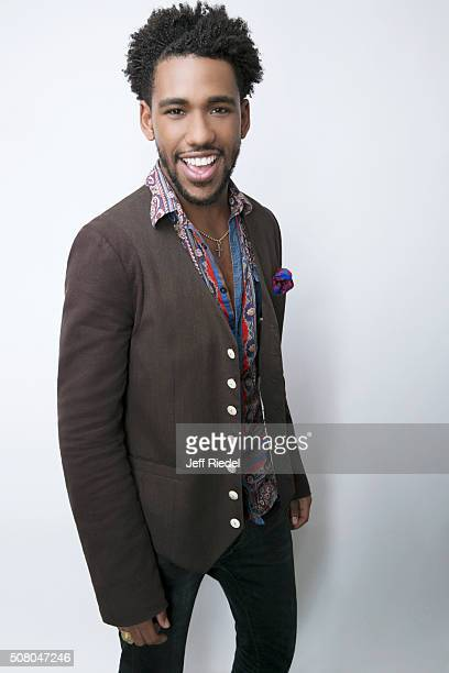 Actor Brandon Mychal Smith is photographed for TV Guide Magazine on January 16, 2015 in Pasadena, California.