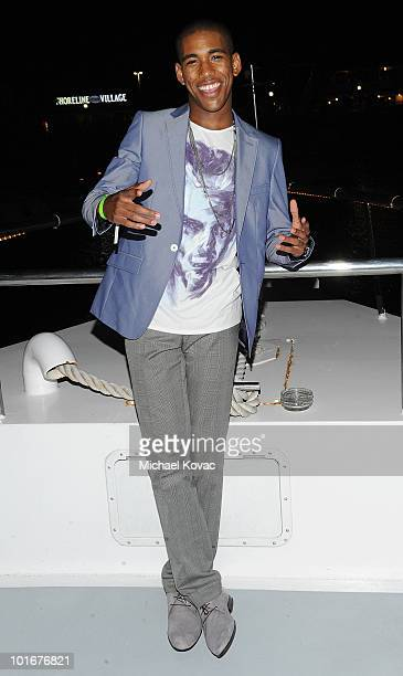 Actor Brandon Mychal Smith tours the yacht during his 21st birthday bash presented by Vivitar and DJ Hero on June 5, 2010 on the Endless Dreams Yacht...