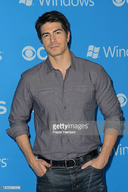 Actor Brandon Routh arrives at CBS 2012 fall premiere party held at Greystone Manor Supperclub on September 18 2012 in West Hollywood California