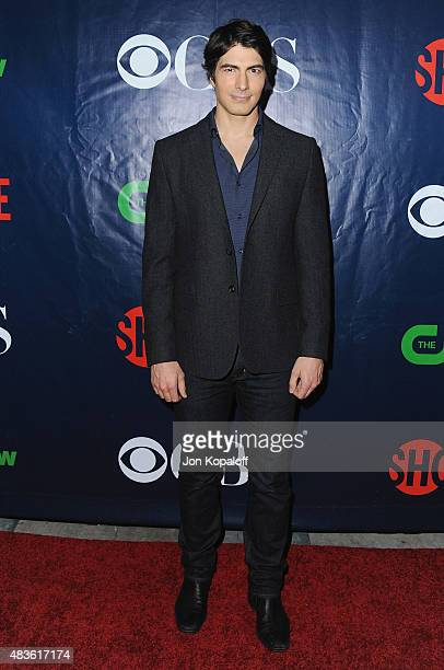 Actor Brandon Routh arrives at CBS CW And Showtime 2015 Summer TCA Party at Pacific Design Center on August 10 2015 in West Hollywood California