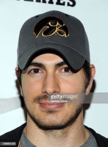 Actor Brandon Routh arrives at Hollywood's Entertainment League 2010/11 TipOff Party And Team Draft at Nike Store at Santa Monica Place on November...
